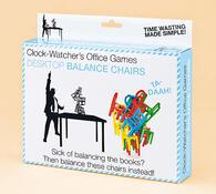 Hra Balancující židle, vícebarevná