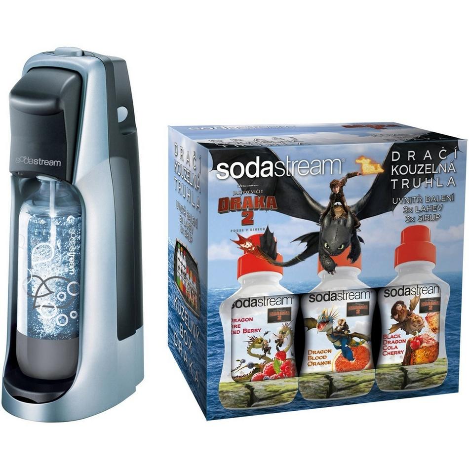 Výrobních sody Sodastream s motivem draka