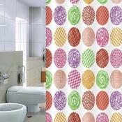 Sprchový závěs Pesaro barevný, 180 x 200 cm