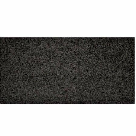 Color shaggy darabszőnyeg, antracit, 60 x 110 cm