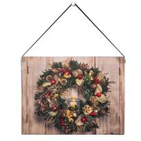 Altom LED obraz na plátně Christmas, 20 x 15 cm