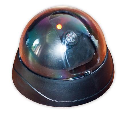 Maketa bezpečnostní kamery černá