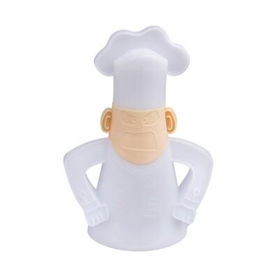 Čistič do mikrovlnnej rúry – nahnevaný kuchár