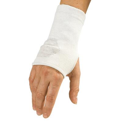 4Home kompresní návlek na zápěstí se stříbrým vláknem L/XL