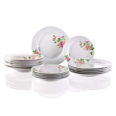 Banquet Romantic 18dílná jídelní sada