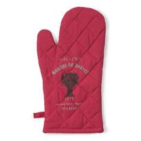 Rękawica z nadrukiem czerwony, 17 x 32 cm