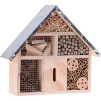 Domček pre hmyz hnedá, 29,5 x 8,8 x 28 cm