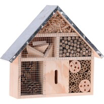 Hmyzí domeček hnědá, 29,5 x 8,8 x 28 cm
