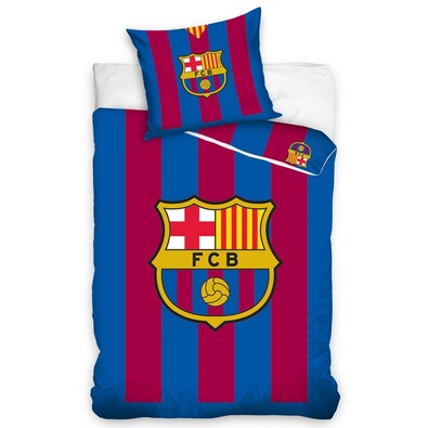 FC Barcelona pamut ágyneműhuzat, 140 x 200 cm, 70 x 90 cm
