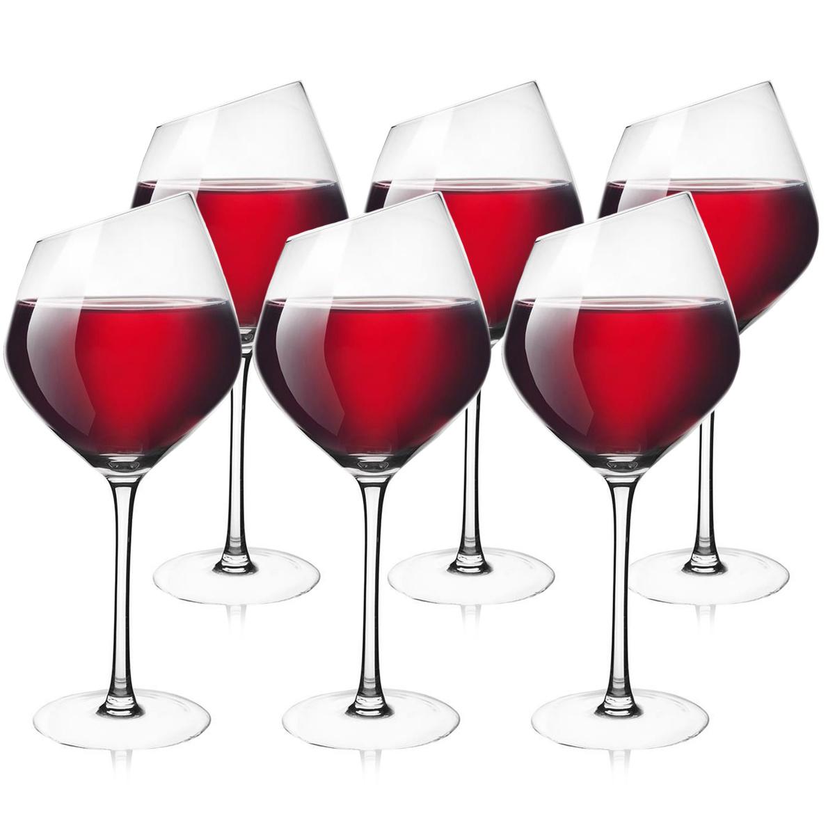 Orion Sklenice na červené víno Exclusive, 6 ks