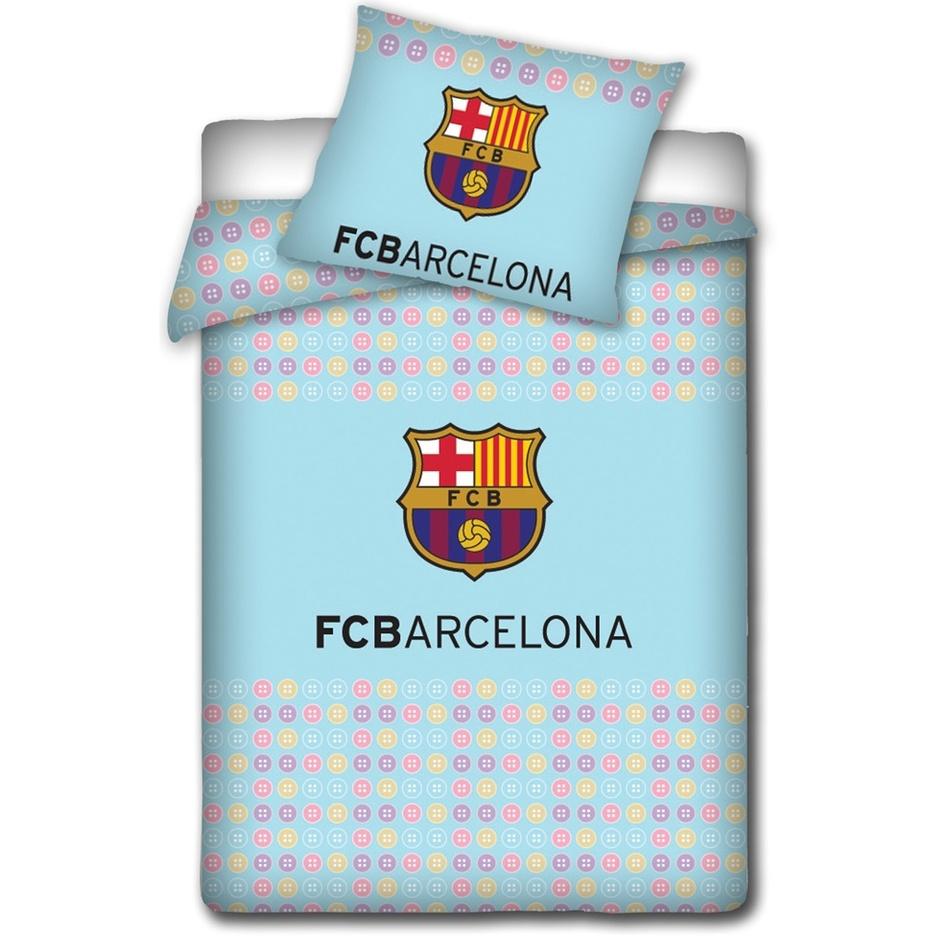 Tip Trade Detské obliečky do postieľky FC Barcelona light, 100 x 130 cm, 40 x 60 cm