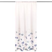 4Home Floral függöny kék, 140 x 245 cm