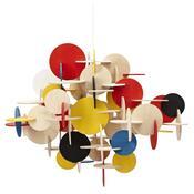 Lustr Bau Lamp L 51 cm, barevný