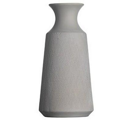 Madam Stoltz Keramická váza bílá