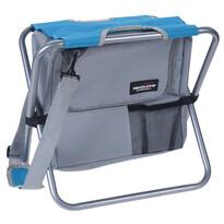 Redcliffs Scaun pliant de camping cu geantă termoizolantă, albastru
