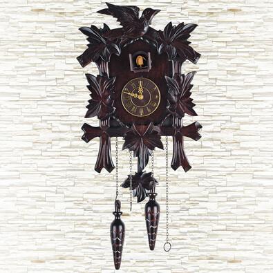 Nástěnné hodiny kukačky 34 x 25 x 14 cm