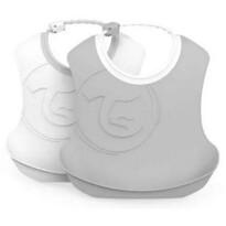 Twistshake Podbradník plastový 4+ m, 2 ks, biela