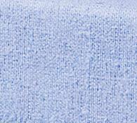 Flanelové prostěradlo, modrá, 2 ks 100 x 200 cm
