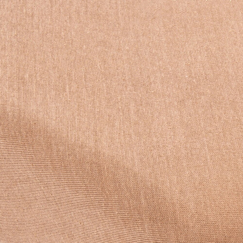 4home jersey prestieradlo svetlohnedá, 90 x 200 cm