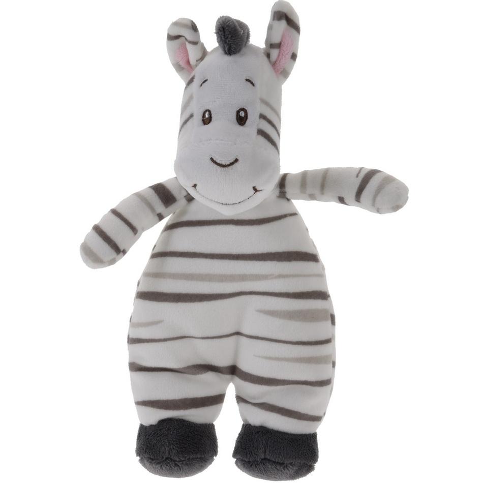 Koopman Plyšová zebra bílá, 20 x 13 cm
