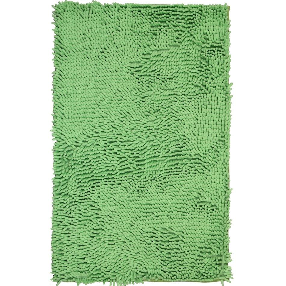 Vopi Kúpeľňová predložka Rasta Micro zelená, 50 x 80 cm
