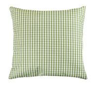 Polštářek Rita zelená kostička, 40 x 40 cm