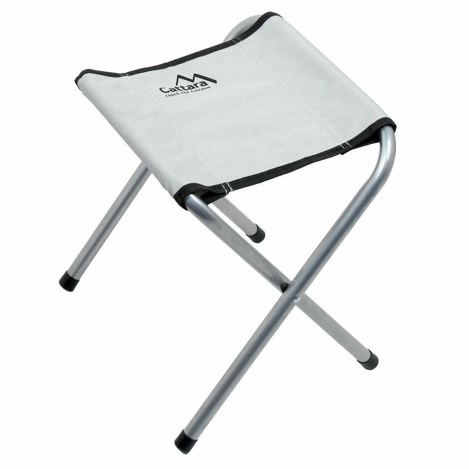 Produktové foto Cattara Stůl kemping DOUBLE teleskop. šedý + 4x židlička
