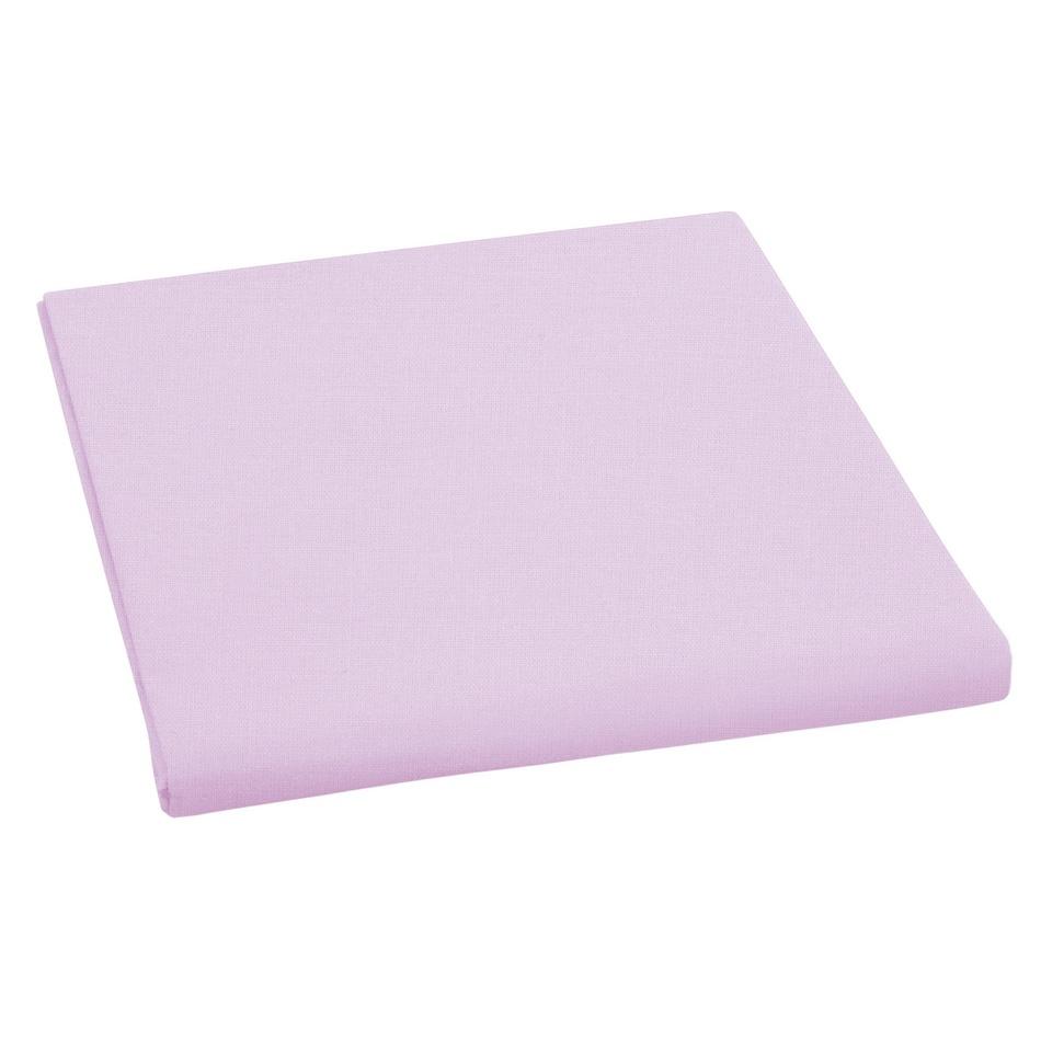 Bellatex Plátěné prostěradlo fialová, 150 x 230 cm