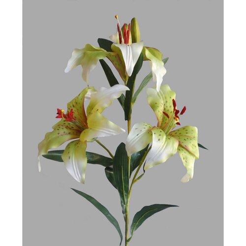 Liliom művirág, fehér