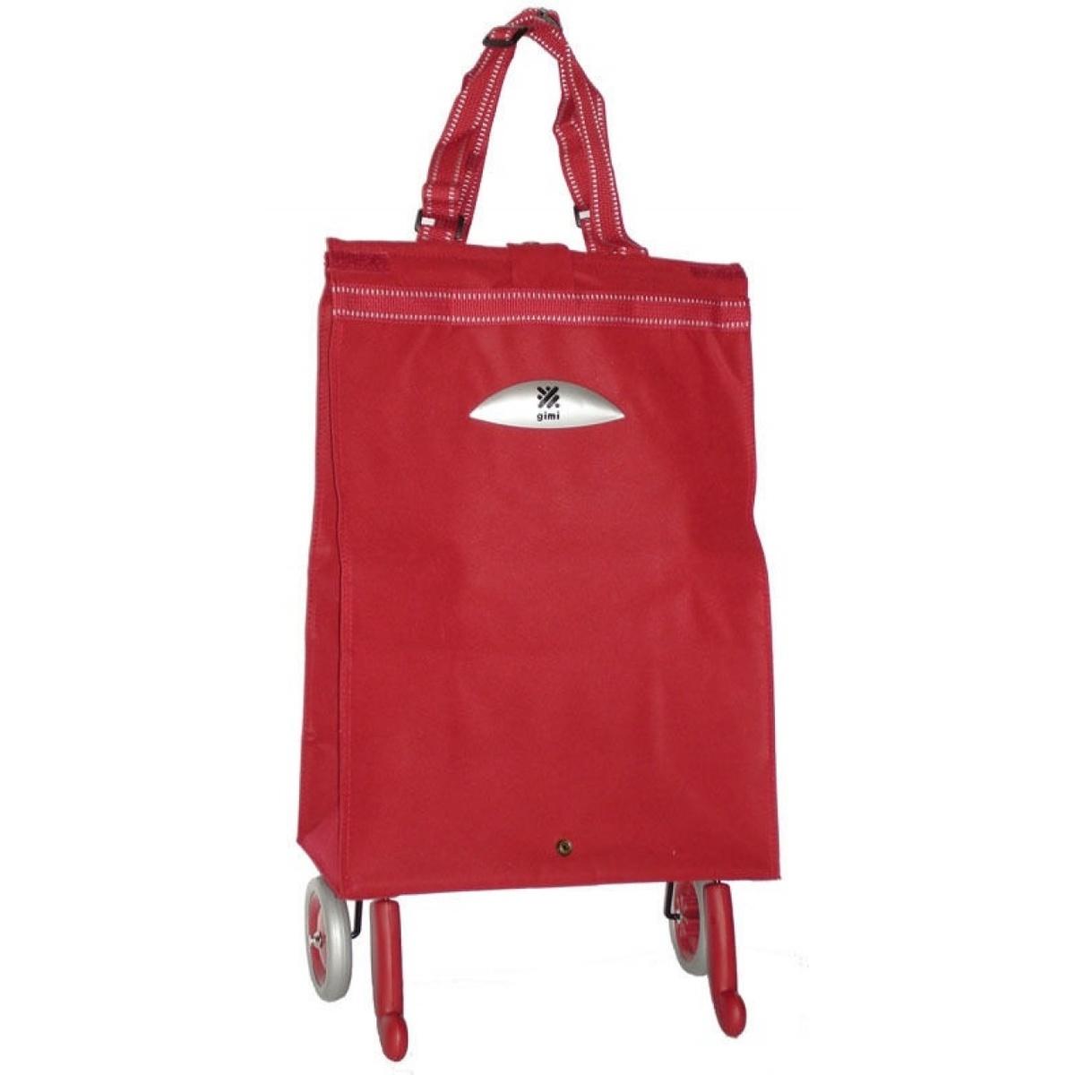 Brava červená taška na kolieskach