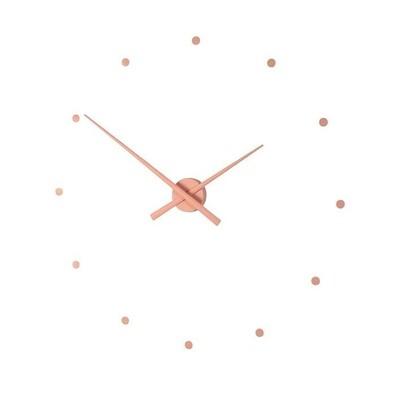 Nomon OJ nástěnné hodiny starorůžová