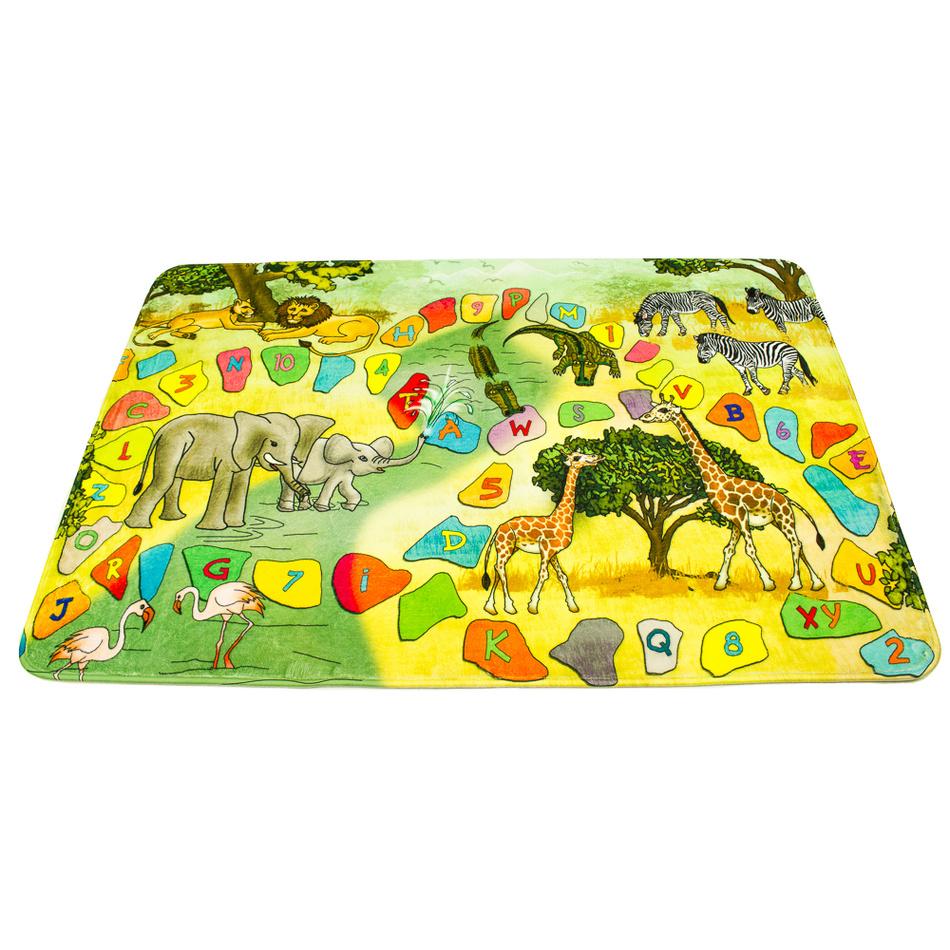 BO-MA dětský koberec safari, 76 x 117 cm