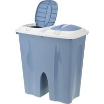 Koopman Odpadkový koš Crayon 2 x 25 l, modrá