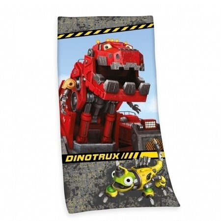 Prosop de corp DinoTrux, 75 x 150 cm