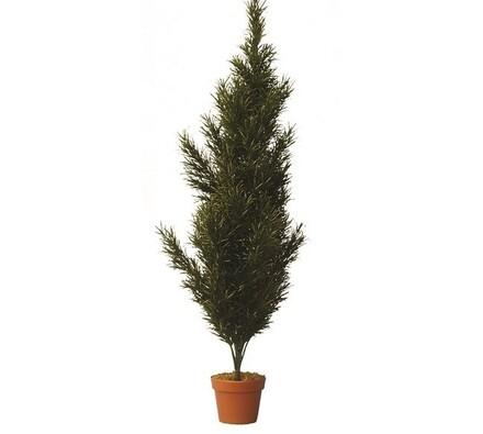 Umělý strom cypřiš 210 cm