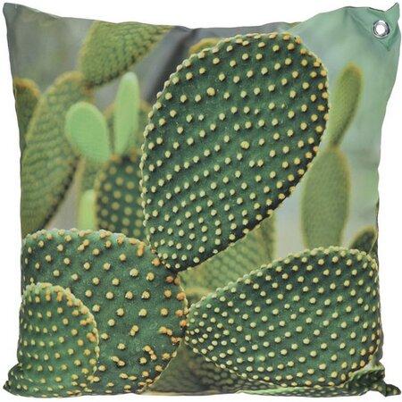 Vankúšik Kaktus zelená, 45 x 45 cm