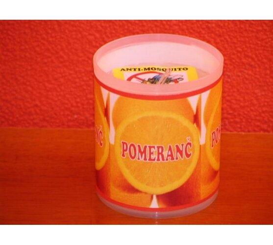 Repelentná sviečka - pomaranč
