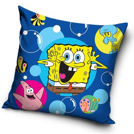 Povlak na polštářek Sponge Bob bubliny, 40 x 40 cm