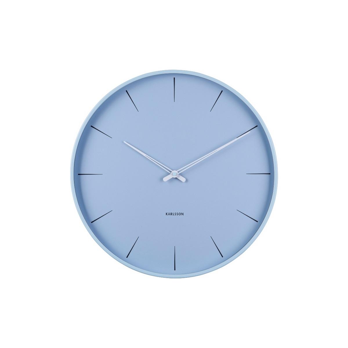 Karlsson Designové nástěnné hodiny KA5834BL