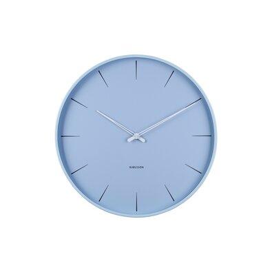 Karlsson KA5834BL Dizajnové nástenné hodiny, 40 cm