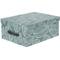 Koopman Dekorační úložný box s víkem, zelená