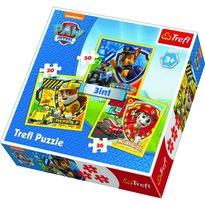 Trefl Puzzle Mancs őrjárat, Marshall, Rubble és Chase, 3 db-os