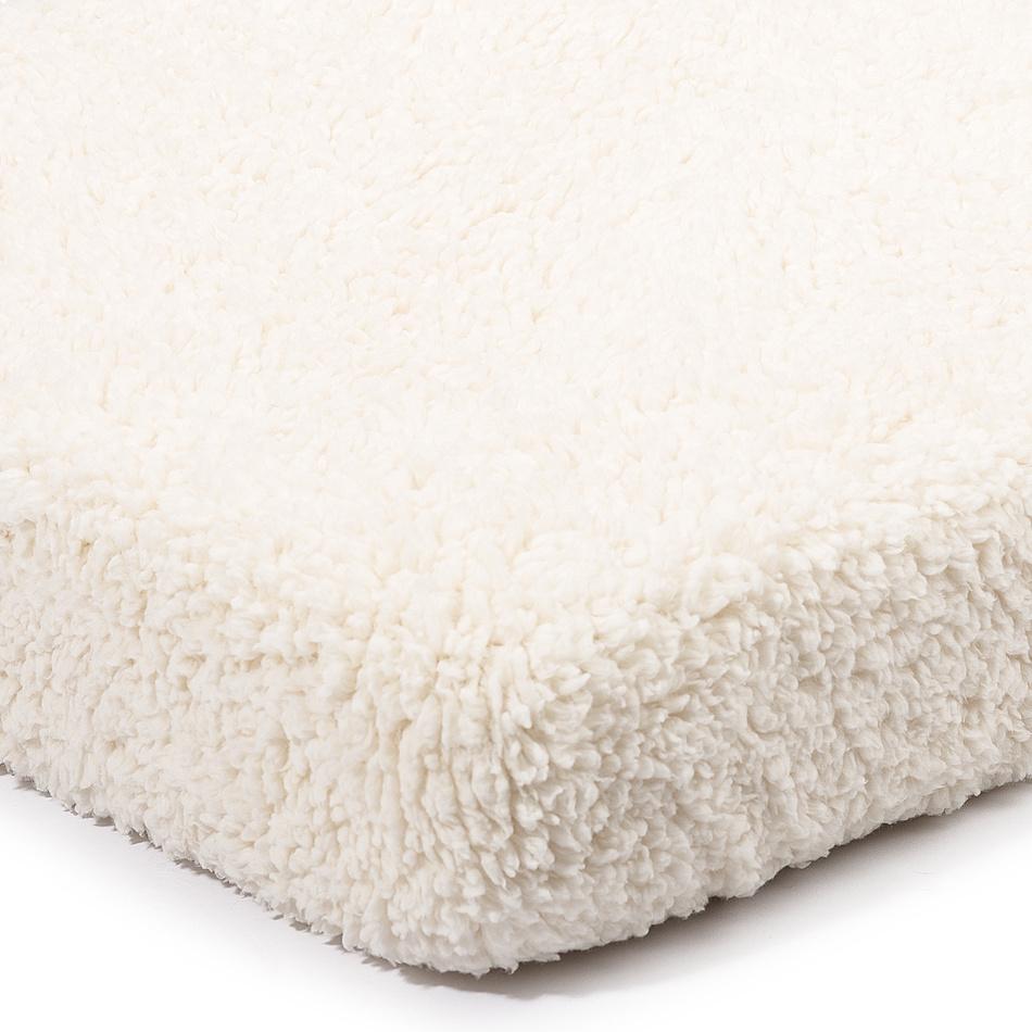 Cearşaf 4Home din imitaţie de lână, crem, 90 x 200 cm imagine 2021 e4home.ro