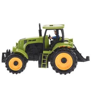 Traktor zelená, 20 cm