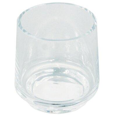 Skleněná váza Champlitte čirá, 12,5 cm