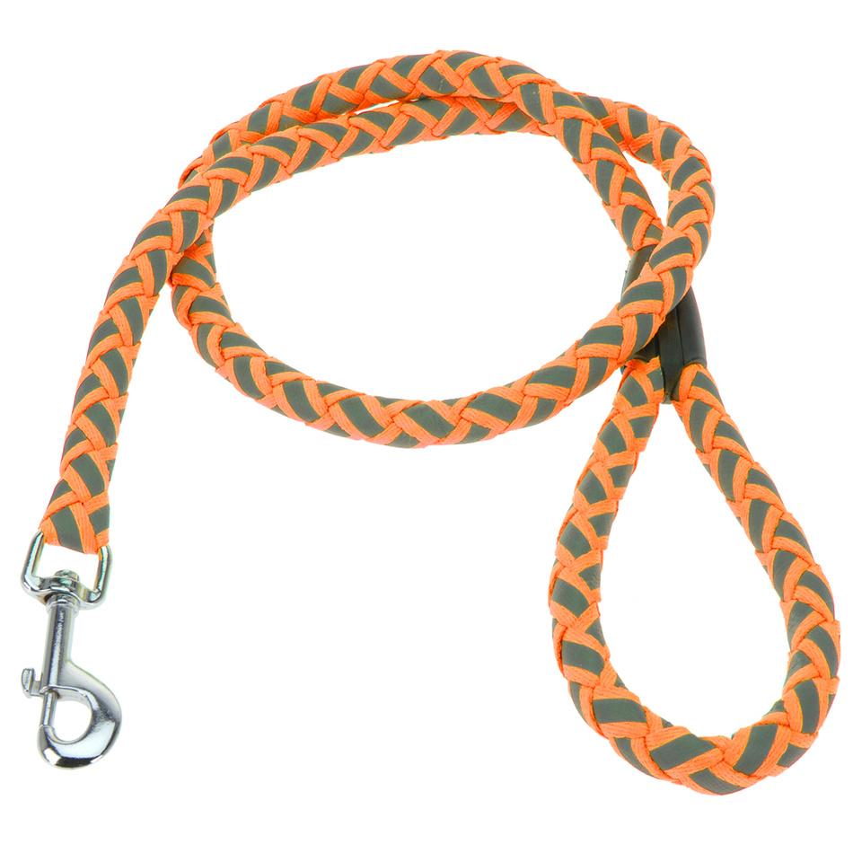 Vodítko pro psa Neon oranžová, vel. L