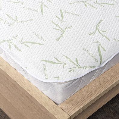 4Home Bamboo Chránič matrace s gumou, 200 x 200 cm