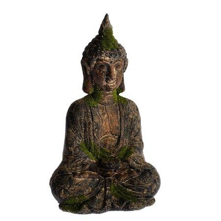 Dekoracja ogrodowa Budda, 21 x 35 x 15 cm