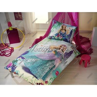 Matějovský dětské bavlněné povlečení Barbie Island, 140 x 200 cm, 70 x 90 cm