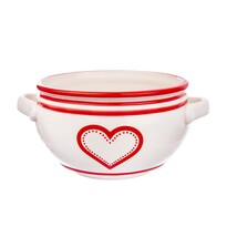 Orion Ceramiczna miska na zupę Krajáč 0,7 l Serce